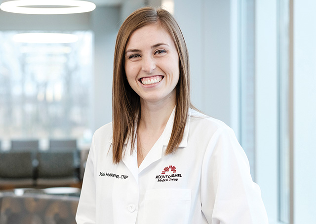 Mount Carmel Medical Group Hilliard is pleased to welcome Katie Heitkamp, CNP.