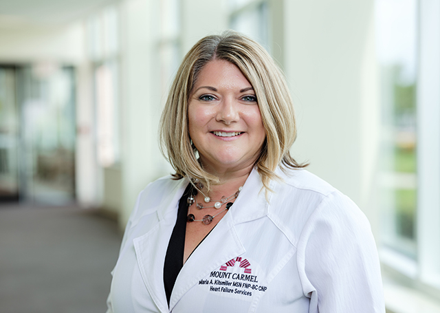 Mount Carmel Heart & Vascular Specialists is pleased to welcome Maria Kitsmiller, CNP.