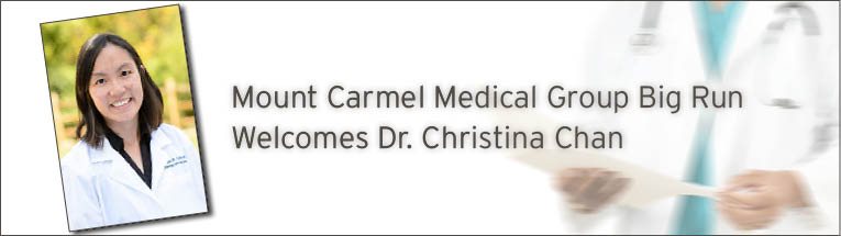 Mount Carmel Medical Group Big Run welcomes Christina Chan, DO